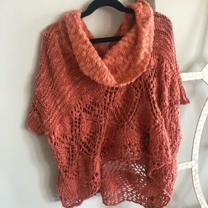 Free People 'Fuzzy Peach' Pullover Sweater